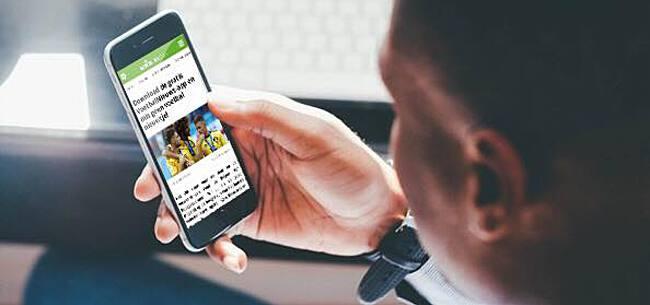 Foto: Download hier de gratis VoetbalNieuws app!