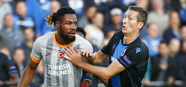 Foto: Luyindama mist Club Brugge en is maanden out