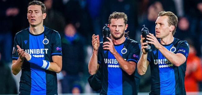 Foto: Geen échte titel voor Club Brugge: