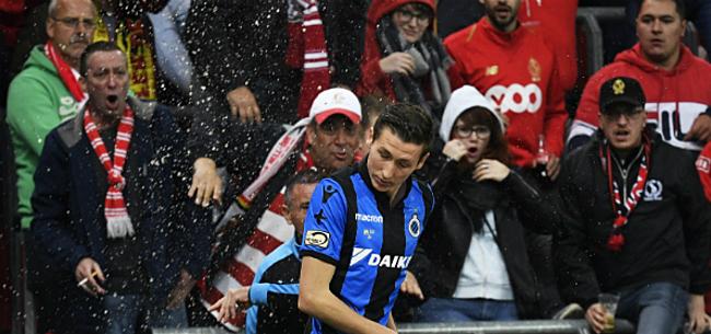 Foto: Vanaken tijdens match 'aangevallen' door Standard-fans