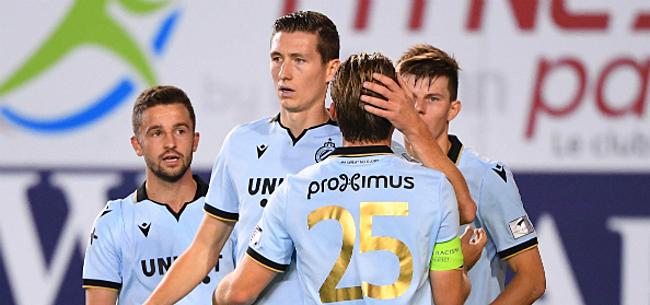 Foto: Zakelijk Club Brugge pakt eenvoudig de drie punten bij Moeskroen
