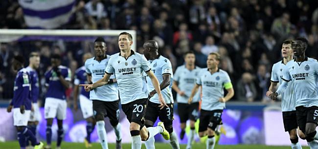 Foto: Vanaken leidt Club naar de zege tegen veelbelovend Anderlecht