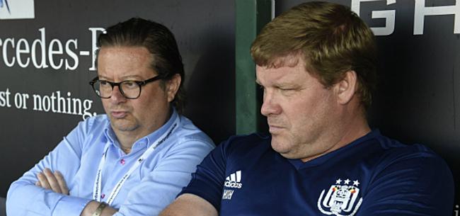 Foto: 'Anderlecht ziet een sleutelpion vertrekken'