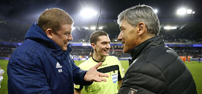 Foto: 'Trainersdossier Charleroi neemt verrassende wending na gesprek met HVH'