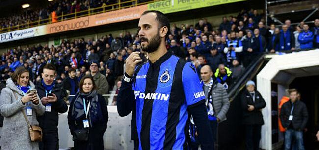 Foto: Vazquez zet deur open voor terugkeer naar Club Brugge