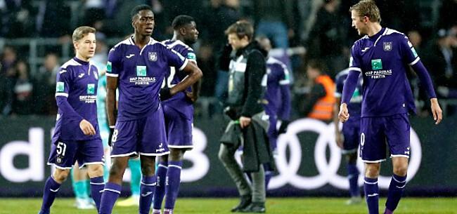 Foto: 'Anderlecht zit met onevenwicht in kleedkamer'