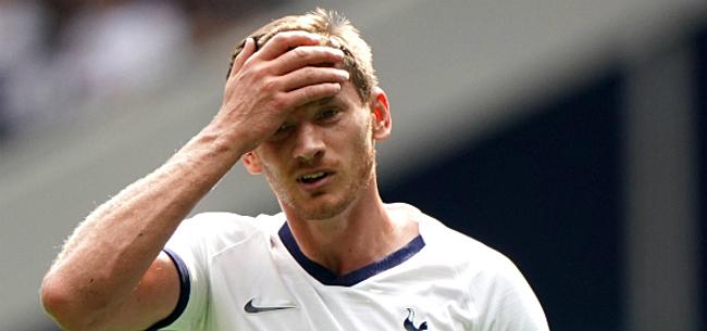 Foto: Vertonghen deze week nog weg bij Tottenham?