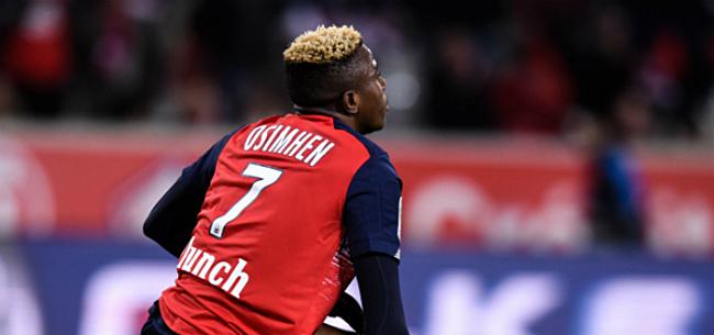 Foto: Charleroi-doelman vergelijkt Osimhen met absolute wereldster