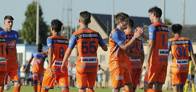 Foto: AA Gent kan niet winnen van Nederlandse eersteklasser