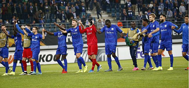 Foto: Vreemde situatie bij AA Gent: