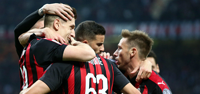 Foto: UEFA gooit AC Milan uit de Europa League