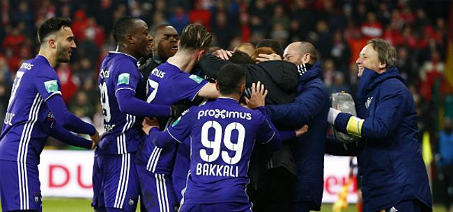 Foto: Bondscoach dankt Anderlecht: