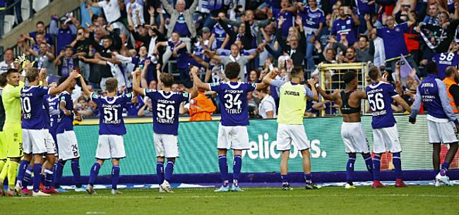Foto: Grote hoop voor Anderlecht: