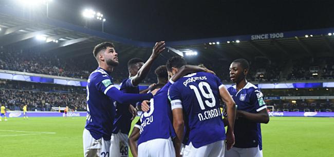 Foto: Nieuwe leider bij Anderlecht: