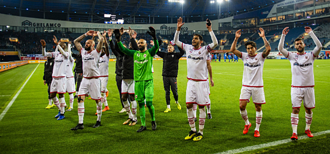 Foto: Antwerp legt druk bij Club Brugge: