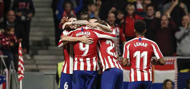 Foto: Atlético Madrid en Valencia houden elkaar in evenwicht