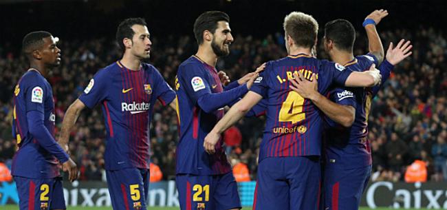Foto: Speler Barcelona aast op vertrek: