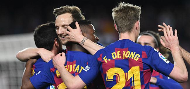 Foto: 'Barça nog niet thuis: topspelers wijzen financieel voorstel af'