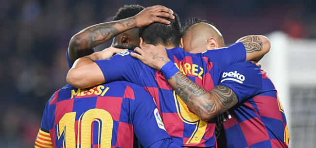Foto: 'Barça eist compensatie Nike na blunder met nieuwe shirt'