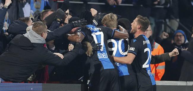 Foto: Club bekert verder na penalty's, Gent sneuvelt in Charleroi