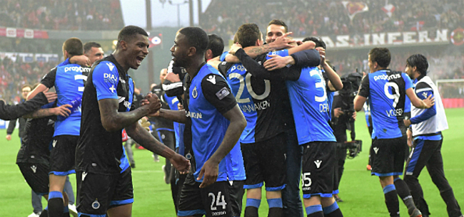Foto: Club Brugge kan titel verzilveren met twéé WK-Duivels