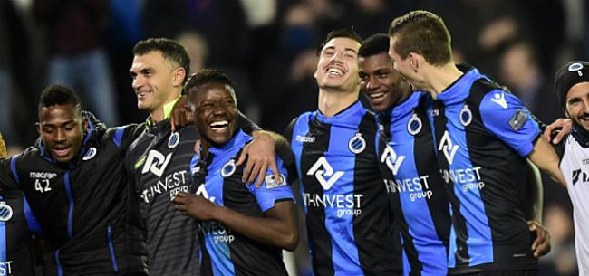 Foto: 'Club Brugge ontsnapt wellicht aan straf na racisme-incidenten'