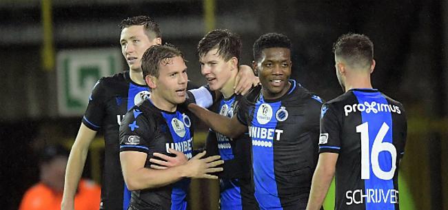 Foto: Club Brugge met nieuwe topspits tegen Anderlecht?