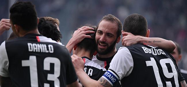 Foto: Debutant Peeters maakt CR7-geschiedenis mee bij Juventus