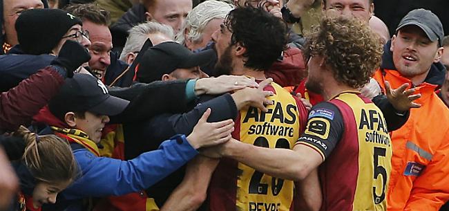 Foto: KV Mechelen-fans reageren fel op aantijgingen Beerschot: