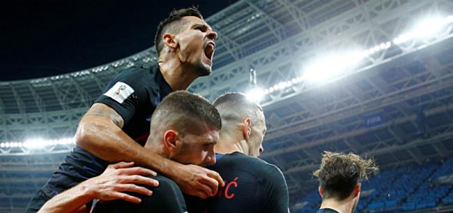 Foto: Onvermoeibaar Kroatië voorbij Engeland naar WK-finale