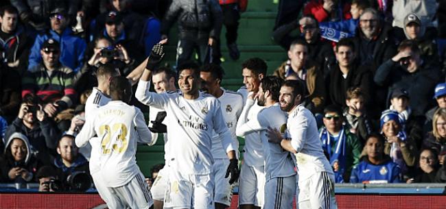 Foto: Real moet lang wachten maar pakt de zege op Valladolid