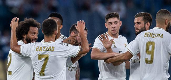 Foto: Real wint nipt de topper in Sevilla en is zowaar leider