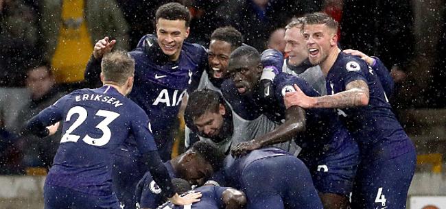 Foto: 'Tottenham stuurt Liverpool en Barcelona wandelen'