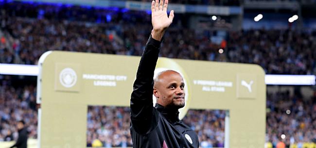 Foto: Kompany ziet City-sterren gelijkspelen tegen Premier League-legendes