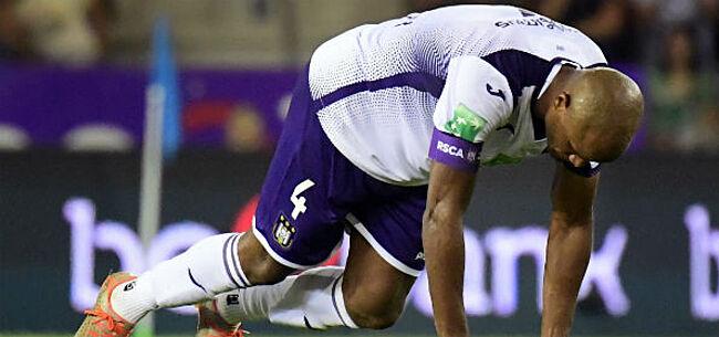 Foto: 'Anderlecht houdt hart vast, zware gevolgen door blessure Kompany'