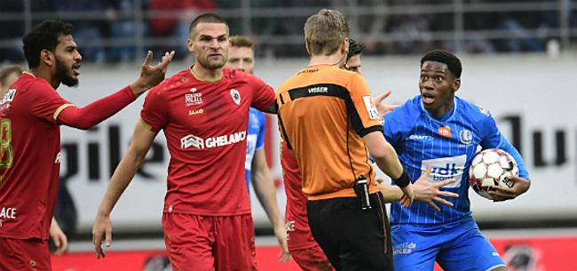 Foto: Antwerp-fans razend op Visser: