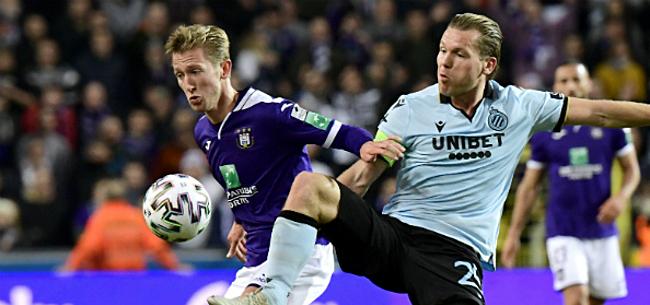 Foto: 'Anderlecht laat oog vallen op doelwit Club Brugge'