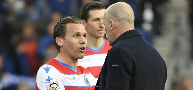 Foto: 2 gebuisden bij Club Brugge:
