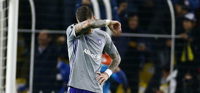 Foto: Ook binnen Anderlecht begint men moedeloos te worden