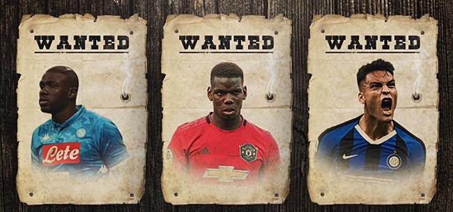 Foto: Most Wanted: de XI meest gegeerde spelers in Europa