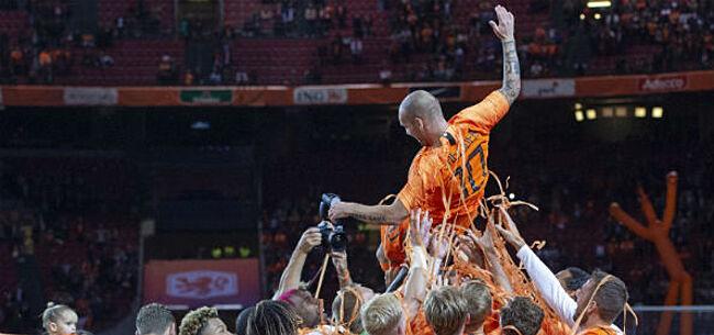 Foto: Sneijder overdondert eigen agent: