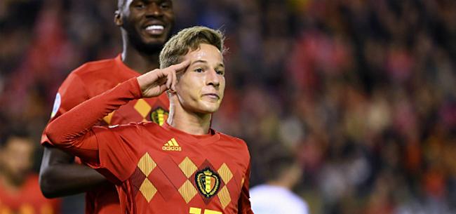 Foto: Italianen zetten drie Anderlecht-talenten bij 'dé toekomst van België'