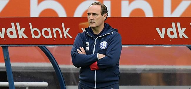 Foto:  Vanderhaeghe twijfelt aan loyaliteit Gent-spelers: