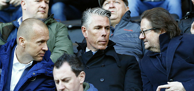 Foto: Anderlecht-fans spuwen hun gal over uitspraken Verschueren