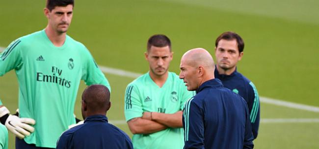 Foto: Courtois heeft verontrustend nieuws over Eden Hazard