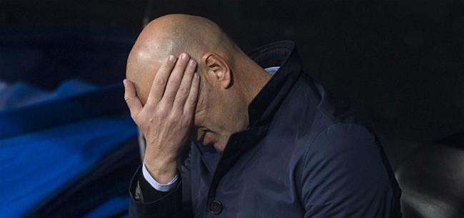 Foto: Stoel van Zidane wankelt alsmaar meer na nieuw verlies in Bernabeu