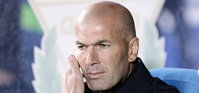 Foto: Zidane wakkert transfergeruchten weer aan na bekendmaken laatste selectie