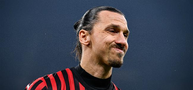 Foto: 'Zlatan mogelijk na het einde van het seizoen al weg bij Milan'
