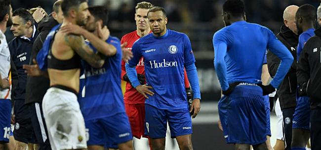 Foto: Fans AA Gent zijn eenduidig na pijnlijke uitschakeling