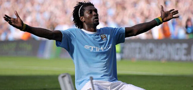 Foto: Adebayor verrast iedereen met nieuwe club